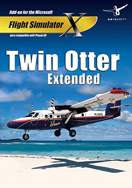 Amazon com : Twin Otter Extended (FSX+P3D) : Computer Video