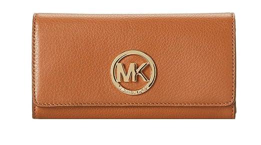 17135413c53b (マイケルコース)MICHAEL KORS 長財布 Fulton Flap Continental Luggage Leather  35F0GFTE1L-LUGGAGE