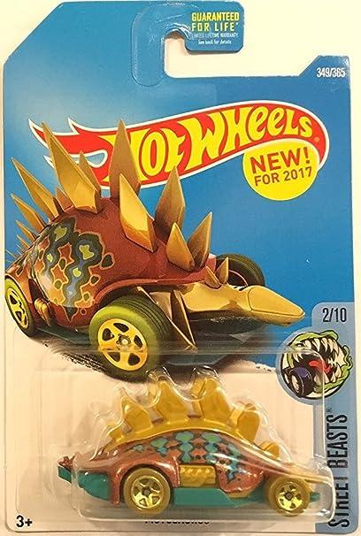 Amazon.com: Hot Wheels 2017 bestias motosaurus de la Calle ...