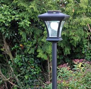 Kingavon Solar Lamp Post, Led Lights, 1.66M Tall - Night ...