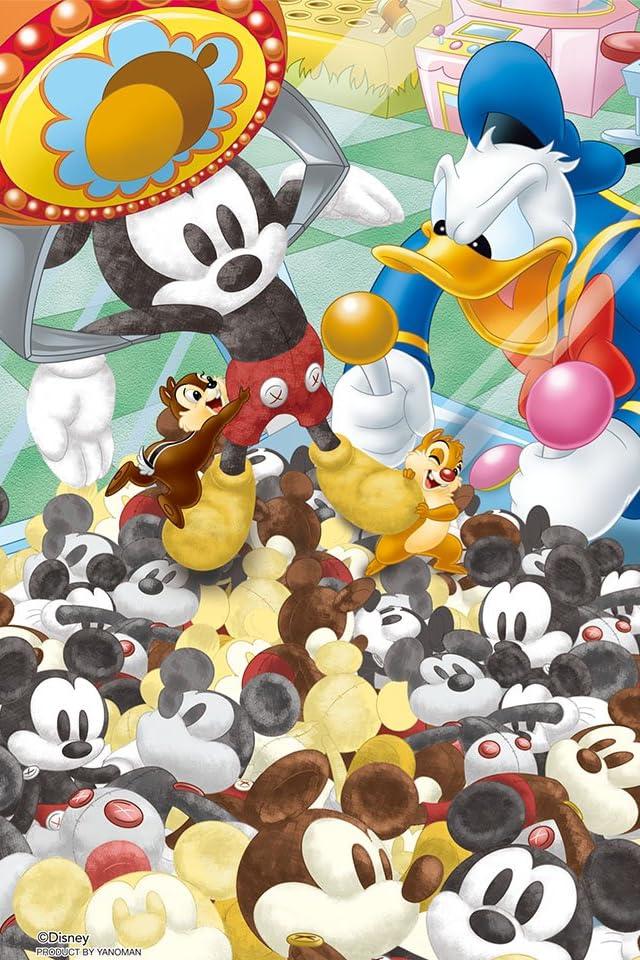 ディズニー クレーンゲーム・バトル iPhone(640×960)壁紙画像