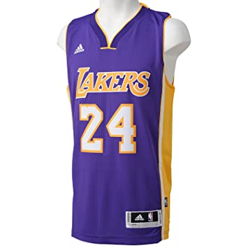 adidas Basketballtrikot Los Angeles Lakers Road Swingman, Camiseta para Hombre, Multicolor (Nba Los