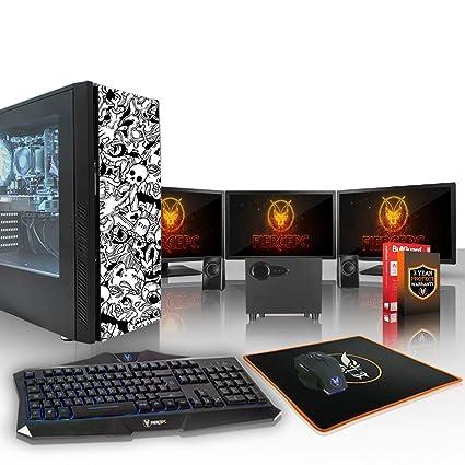 Fierce CHEETAH RGB PC Gamer Paquete - Rápido 4 x 4.5GHz Quad Core ...