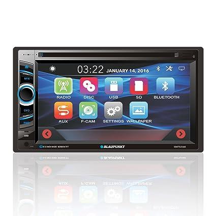 Amazon com: Blaupunkt Seattle 660 6 2-Inch in Dash Touch Screen