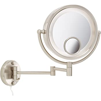 Amazon Com Jerdon Hl8515n 8 5 Inch Lighted Wall Mount