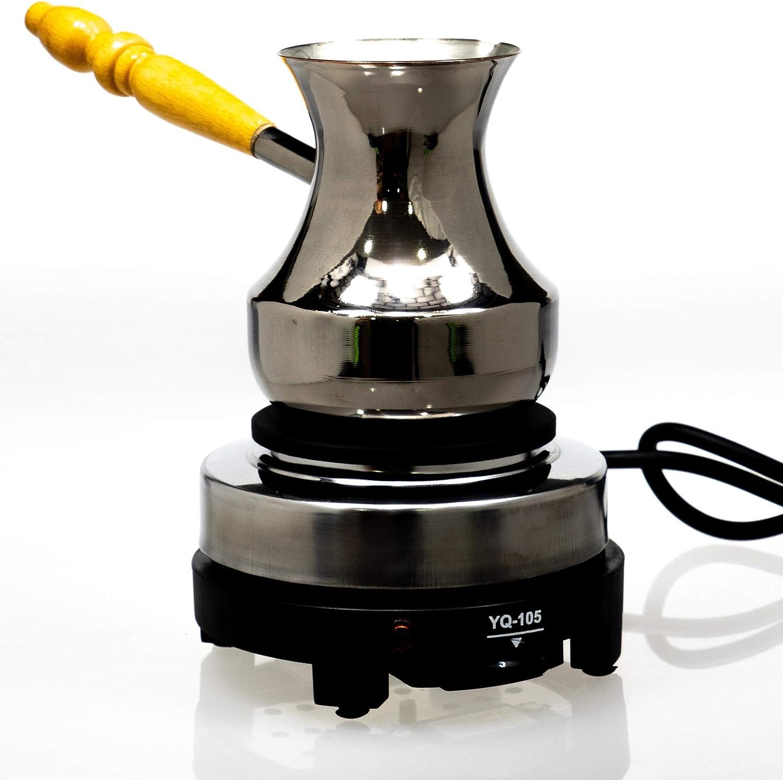 Cocina Eléctrica Portátil Multifuncional Mini Chapa Caliente Para Preparar La Comida, Café Té En Las Condiciones De Casa En Casa De Campo En Camping Con La Potencia De 500W (enchufe UE): Amazon.es: