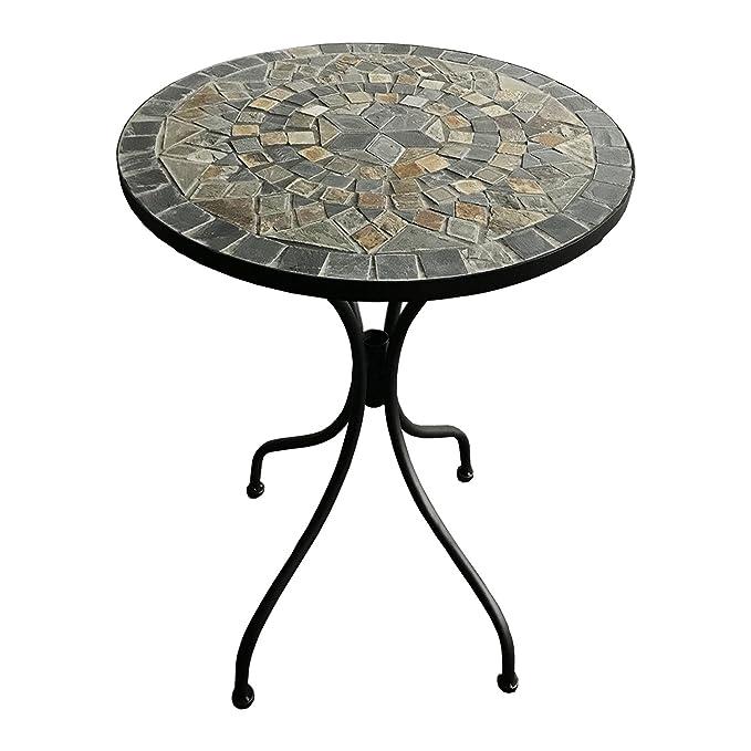 Amazon.de: Dekorativer mediteraner Mosaik Tisch Stern Design ...