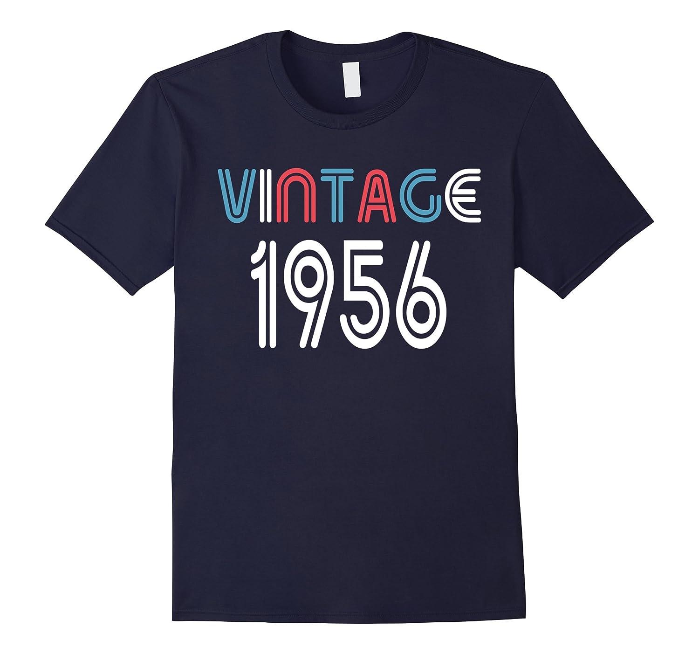 Vintage 1956 Shirt Funny 61 Years Old 61st Birthday Gift-FL