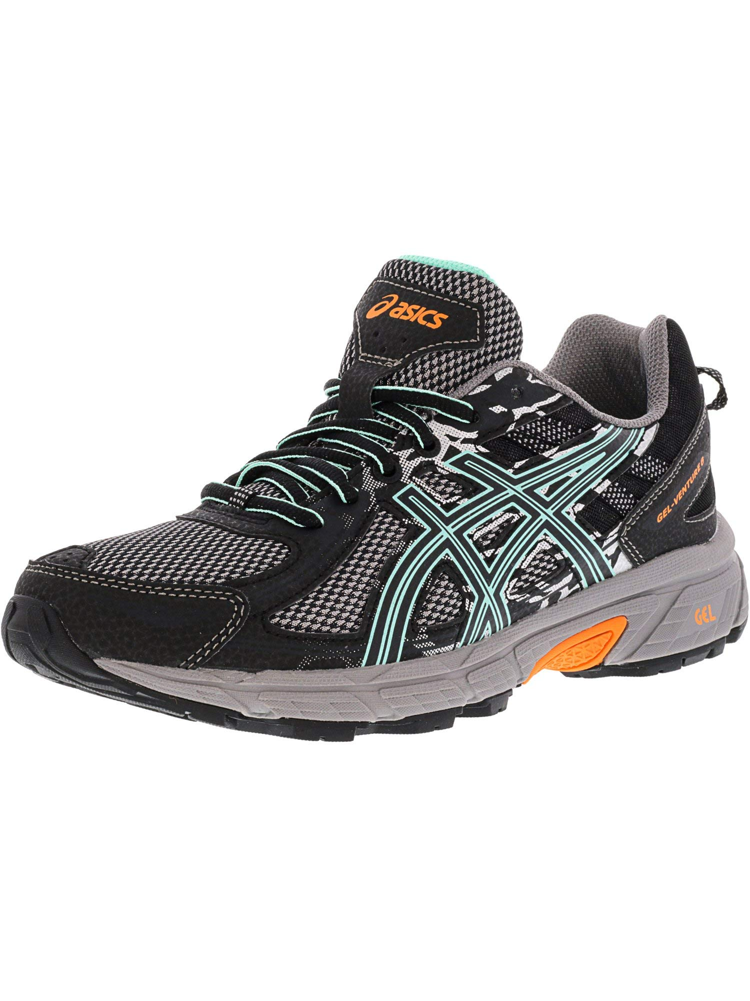 ASICS Womens Gel-Venture 6 Running Shoes Black/Ice