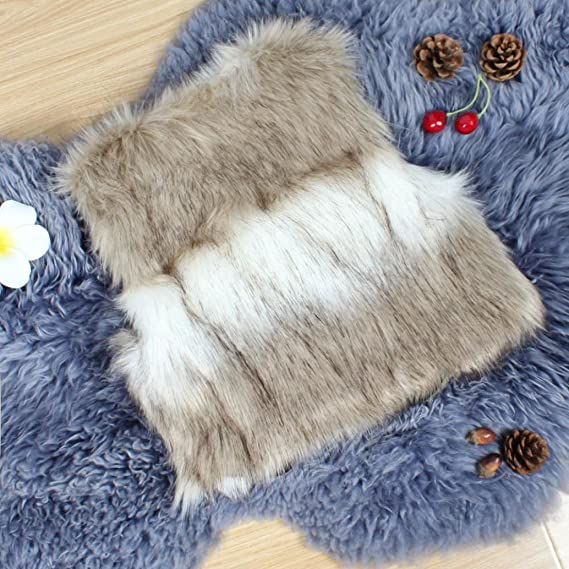HOMEBABY Toddler Kids Baby Girl Faux Fur Gilets Winter Warm Baby Clothes Girls Sleeveless Jacket Winter Waistcoat Vest Coat Fluffy Thick Coat Outwear for 3-7 Years