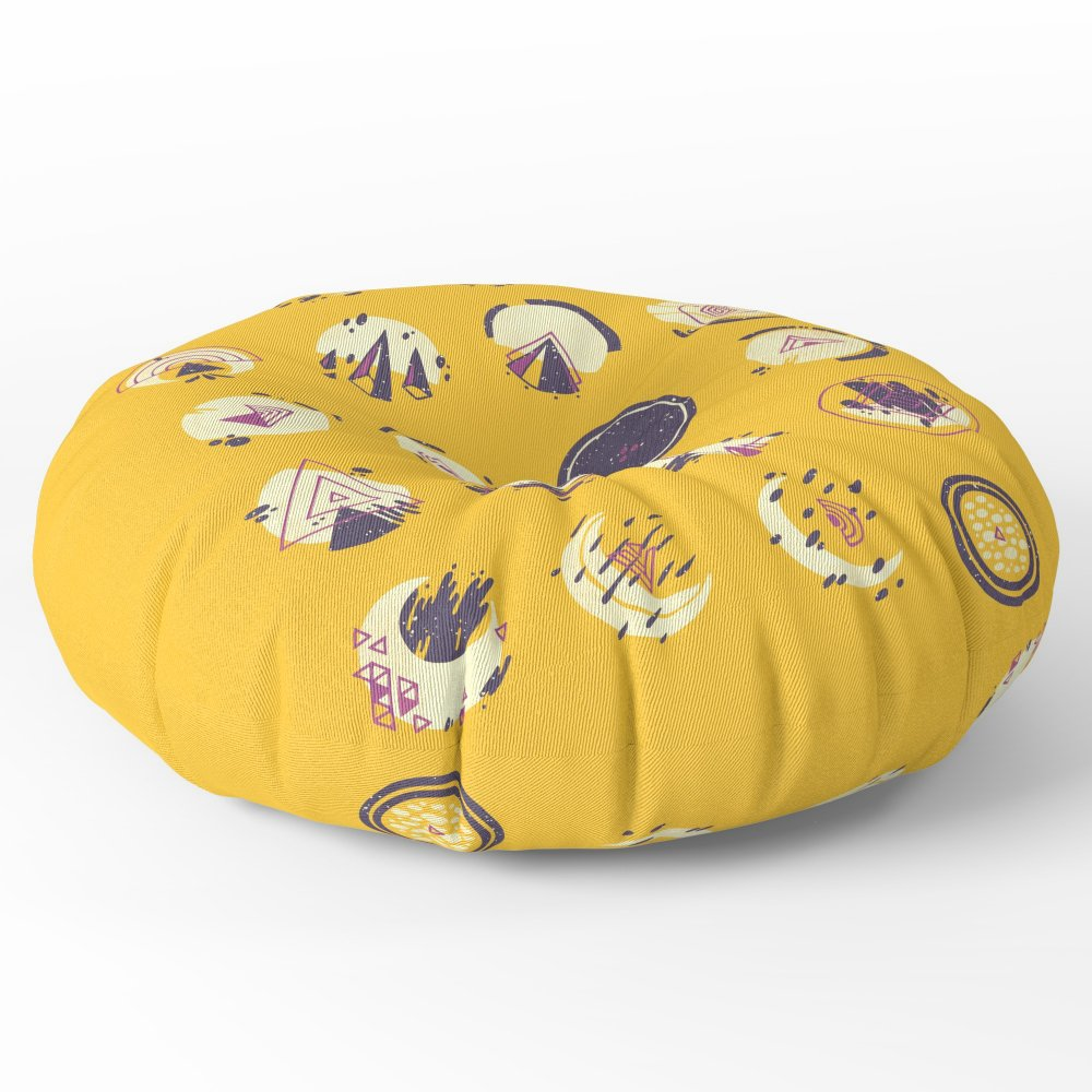 Society6 As Seen From My Window Floor Pillow Round 30'' x 30''