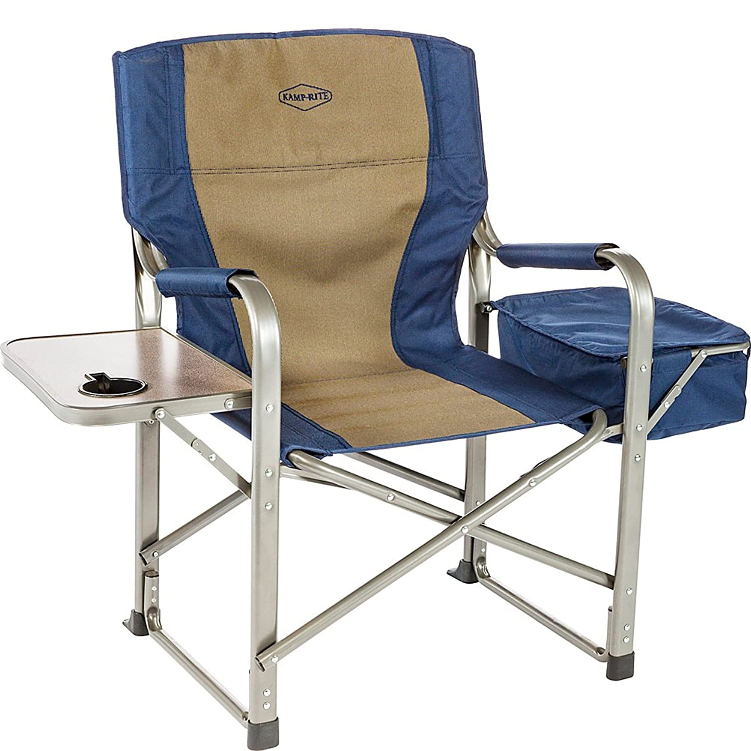 Kamp Rite Director's Chair/Side Table; Cooler
