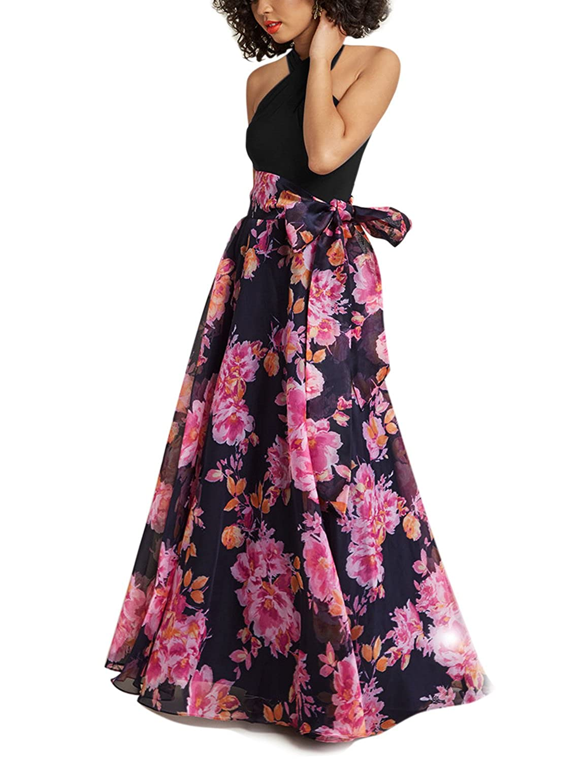 bc5c1184cb4 This full length summer dress is Multi-Way for Convertible