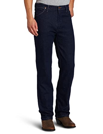 64c6b18e Wrangler Men's Western Regular Bootcut Jean at Amazon Men's Clothing store:  Wrangler Cowboy Cut Stretch