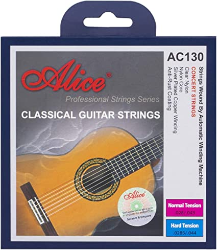 5 x Classical Guitar Strings Single Individual D 4th String Nylon Normal Tension