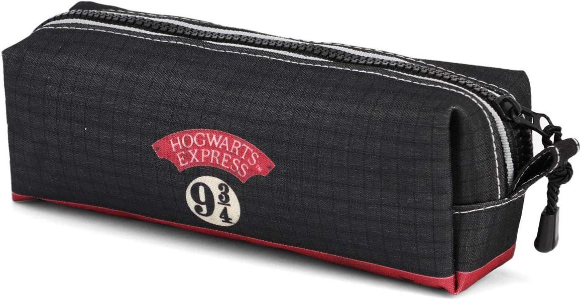 Karactermania Harry Potter Express-Estuche Portatodo Cuadrado Estuches, 22 cm, Negro: Amazon.es: Equipaje