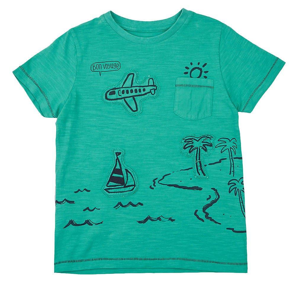 Vicky Piggy Little Boys T-Shirt Cotton Short Sleeve for Boy Summer Kids Print Cotton Casual