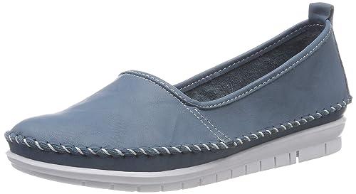 Andrea Conti 0021627, Mocasines para Mujer, Blau (Jeans 274), 40 EU: Amazon.es: Zapatos y complementos