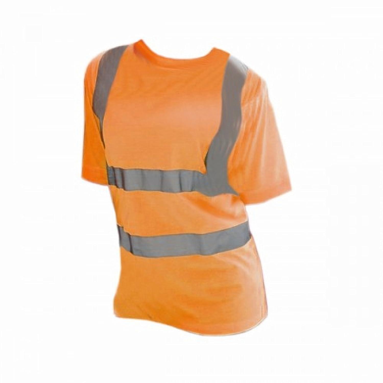 Yoko Ladies/Womens Hi-Vis Short Sleeve T-Shirt UTBC1243_2
