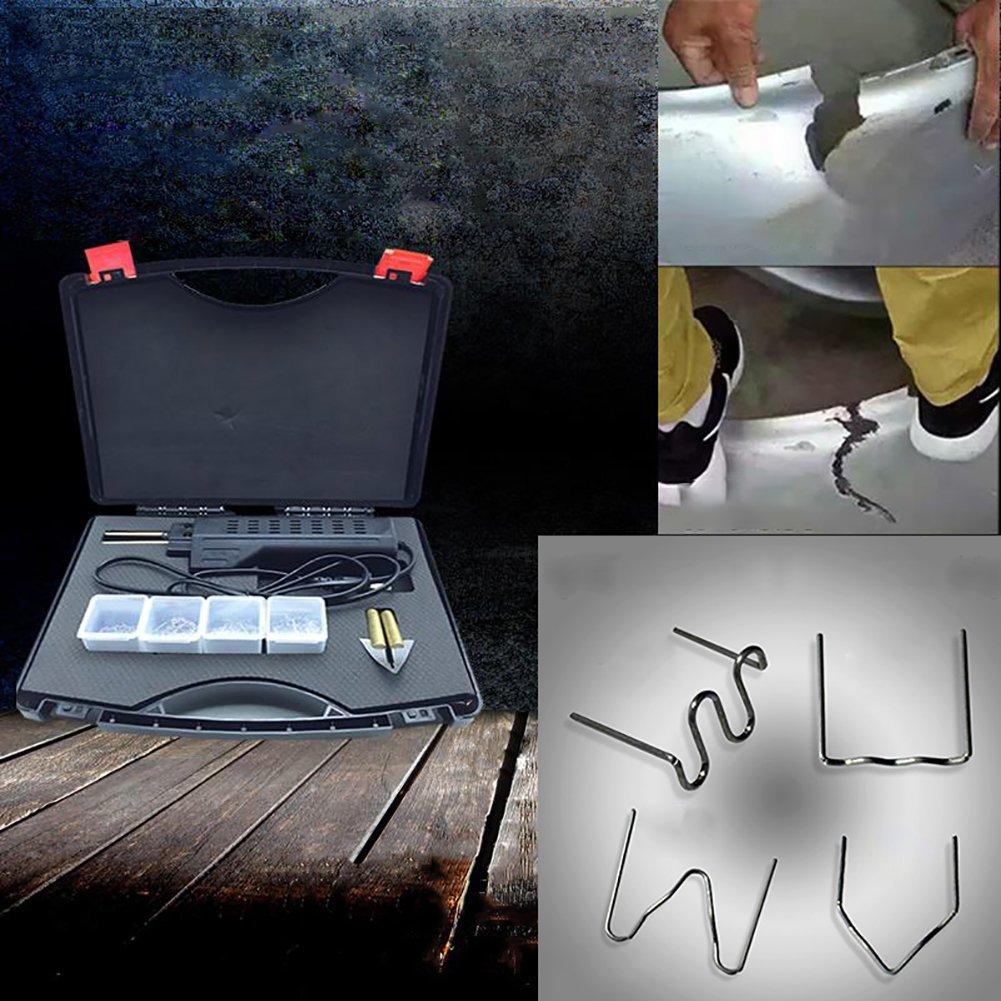 Binglinghua 110V/220V Hot Stapler Car Bumper Fender Fairing Welder Gun Plastic Repair Kit 200 Staples by Binglinghua® (Image #7)