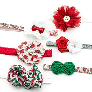 Christmas Baby Girl Headbands Girls Infants Women Teens Cute Newborn New  Cheap 6 Month Hair Accessories 8622e21ad47
