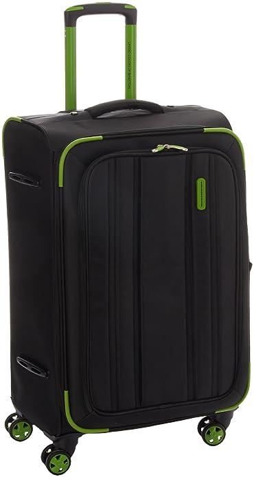 Benetton B Chrome - maleta unisex, color verde, talla Taille ...