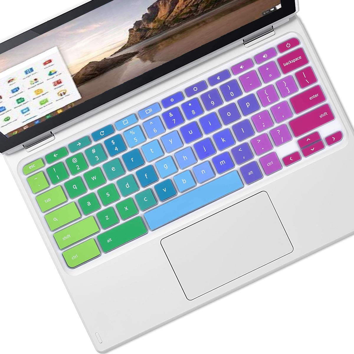 Keyboard Cover for HP Chromebook 11 11.6 Inch 11a-nb0013dx 11a-nb0047nr | HP Chromebook x360 11.6