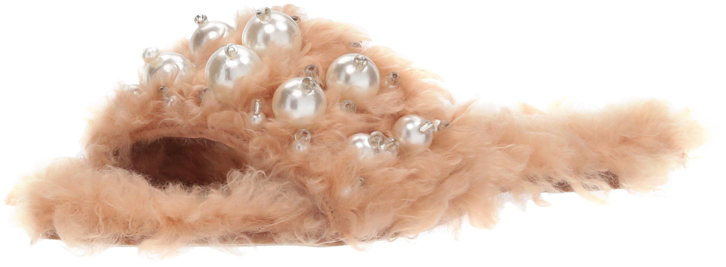Penny Loves Kenny Women's Fifi Slipper, Nude Monster Fur, 7.5 Wide US