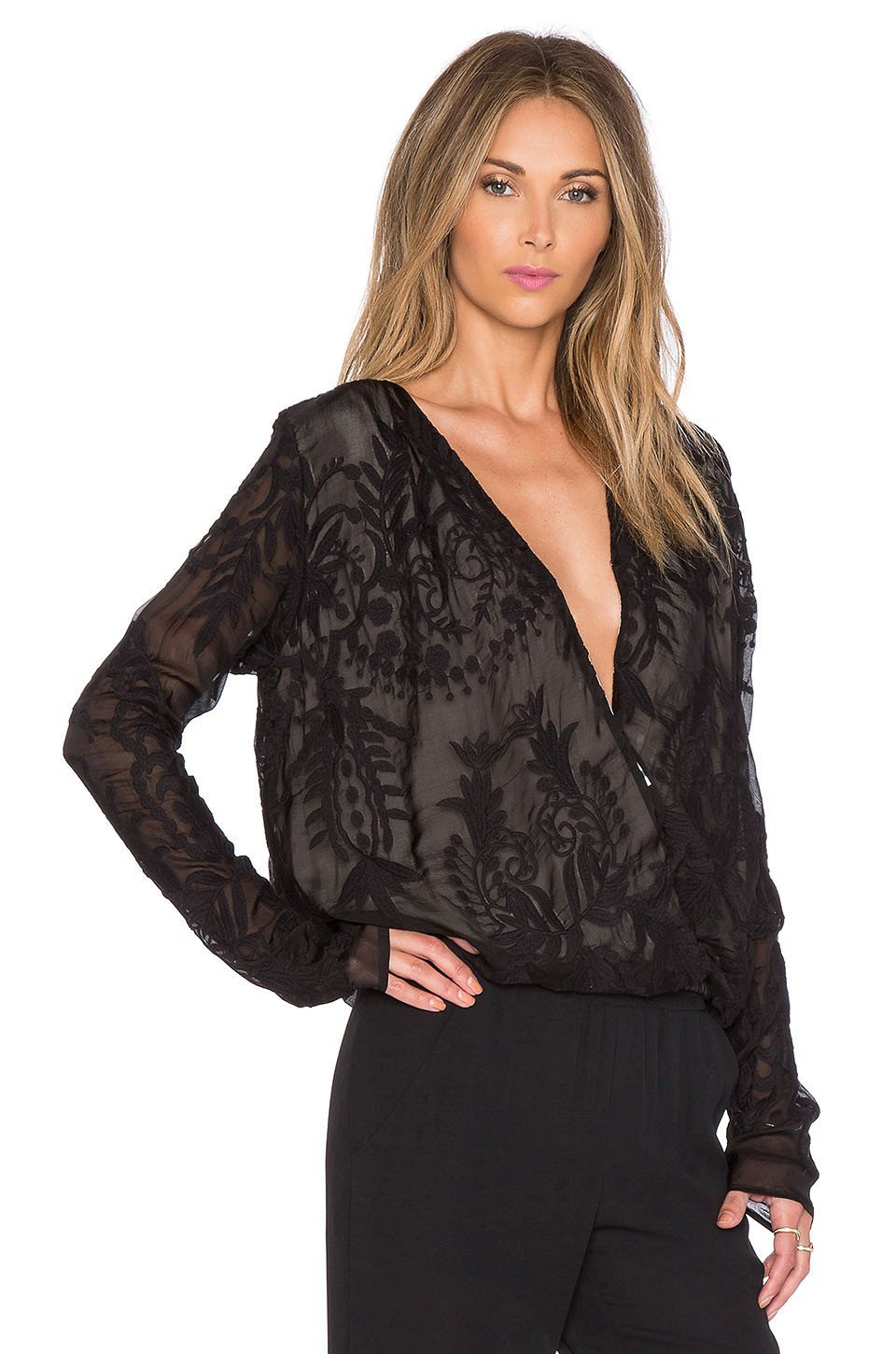 Delilah Blouse | Black