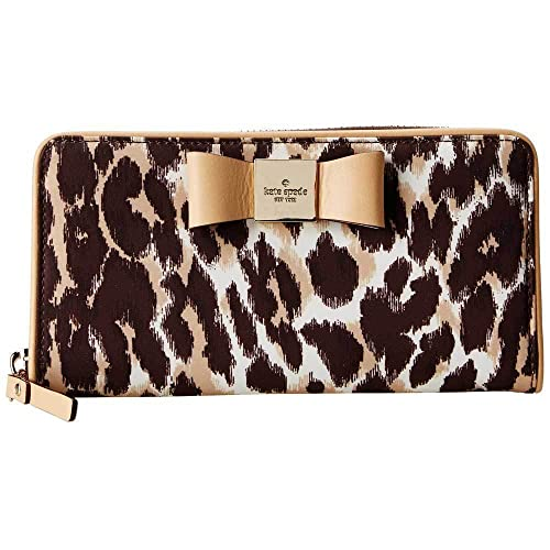 Kate Spade - Cartera de mano de nailon para mujer multicolor leopardo: Amazon.es: Zapatos y complementos