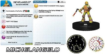 Amazon.com: Heroclix Teenage Mutant Ninja turtles TMNT #026 ...