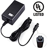 LotFancy 36V 42V 1A Lithium Battery Charger, Compatible with Razor Two Wheels Electric Scooters, Swagtron T1, T3, T6, Swagway X1, IO Hawk, Power Supply Adapter, UL Listed, Mini 3-Prong Connecter