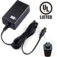 LotFancy 36V 42V 1A Lithium Battery Charger Compatible with Razor Two Wheels Electric Scooters Swagtron T1 T3 T6 Swagway X1 IO Hawk Power Supply Adapter UL Listed Mini 3-Prong Connector