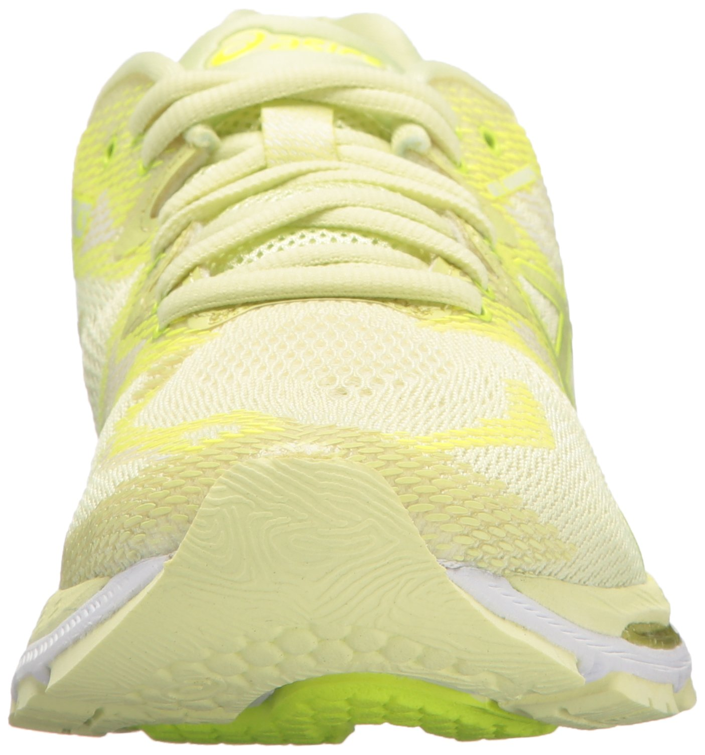 ASICS Women's Gel-Nimbus 20 Running Shoe, limelight/limelight/safety yellow, 5.5 Medium US by ASICS (Image #4)