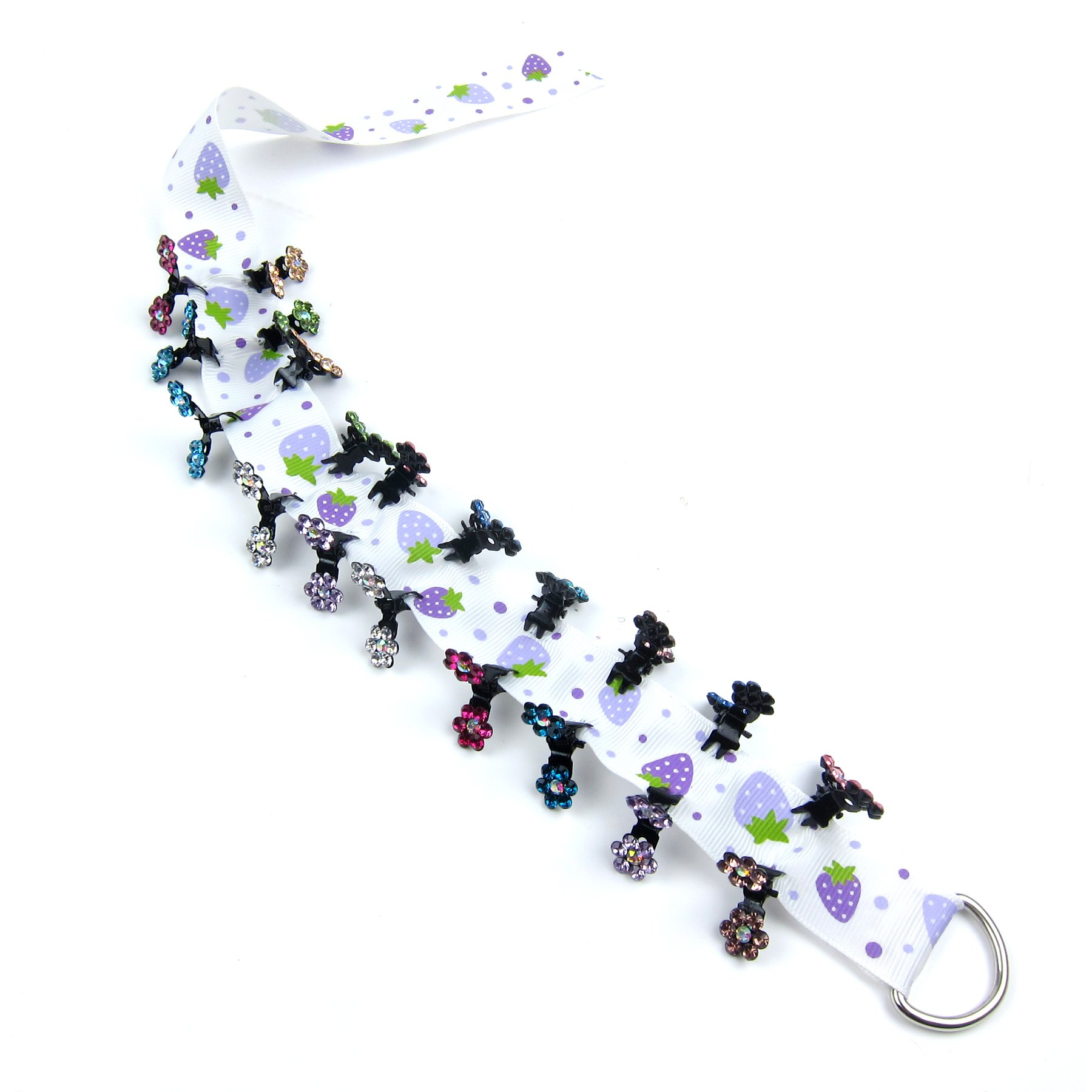 Alfie Pet by Petoga Couture - Dasie Rhinestone Flower Hair Clip 20-Piece Set for Dogs, Cats and Small Animals by Alfie (Image #6)
