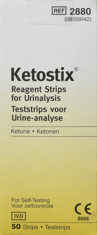 Ascensia - Tiras Reactivas Ketostix - 50 tiras: Amazon.es: Industria, empresas y ciencia