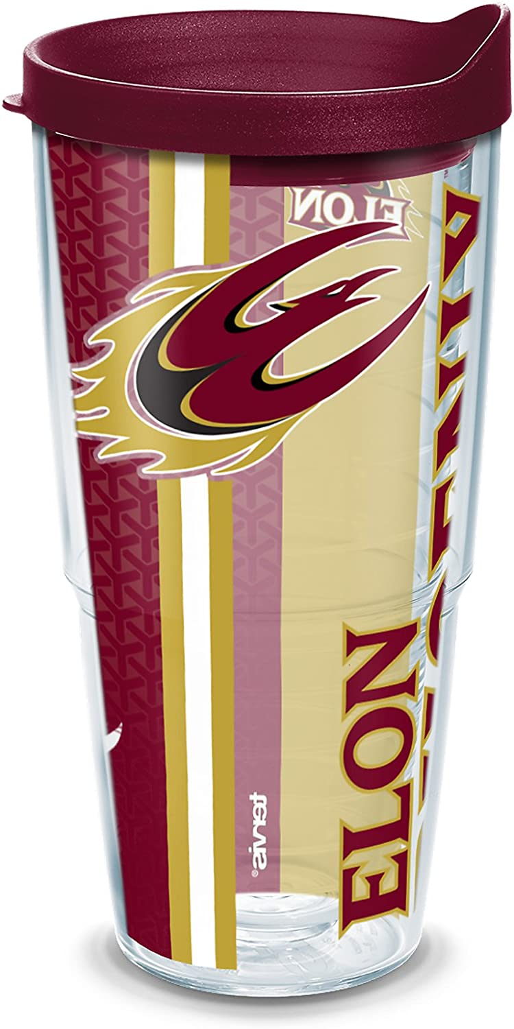 Tervis VMI Keydets College Pride Tumbler with Wrap and Red Lid 24oz Clear