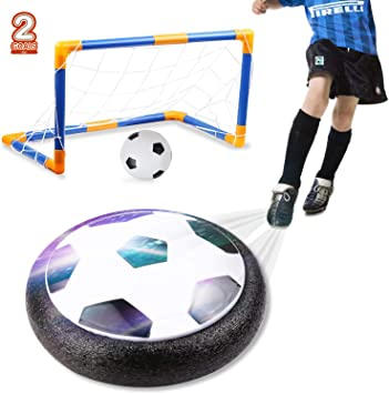 amzdeal Air Football Kit Juguete Balón de Fútbol(1 x Air Hover ...