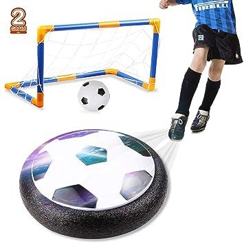 amzdeal Air Football Kit Juguete Balón de Fútbol(1 x Air Hover ...
