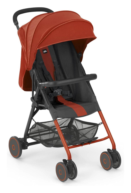 Cochecito de aluminio Dalla nacimiento 0 - 36 meses), color rojo/gris - Cam fletto: Amazon.es: Bebé