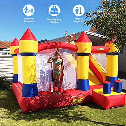 Amazon.com: Yard Bouncer Slide obstáculo Combo los ...