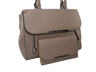 a6d4a1c1cf0 Image Unavailable. Image not available for. Color  New Guess G Logo Purse  Satchel Hand Bag Crossbody   Wallet Set 2 Piece Pink