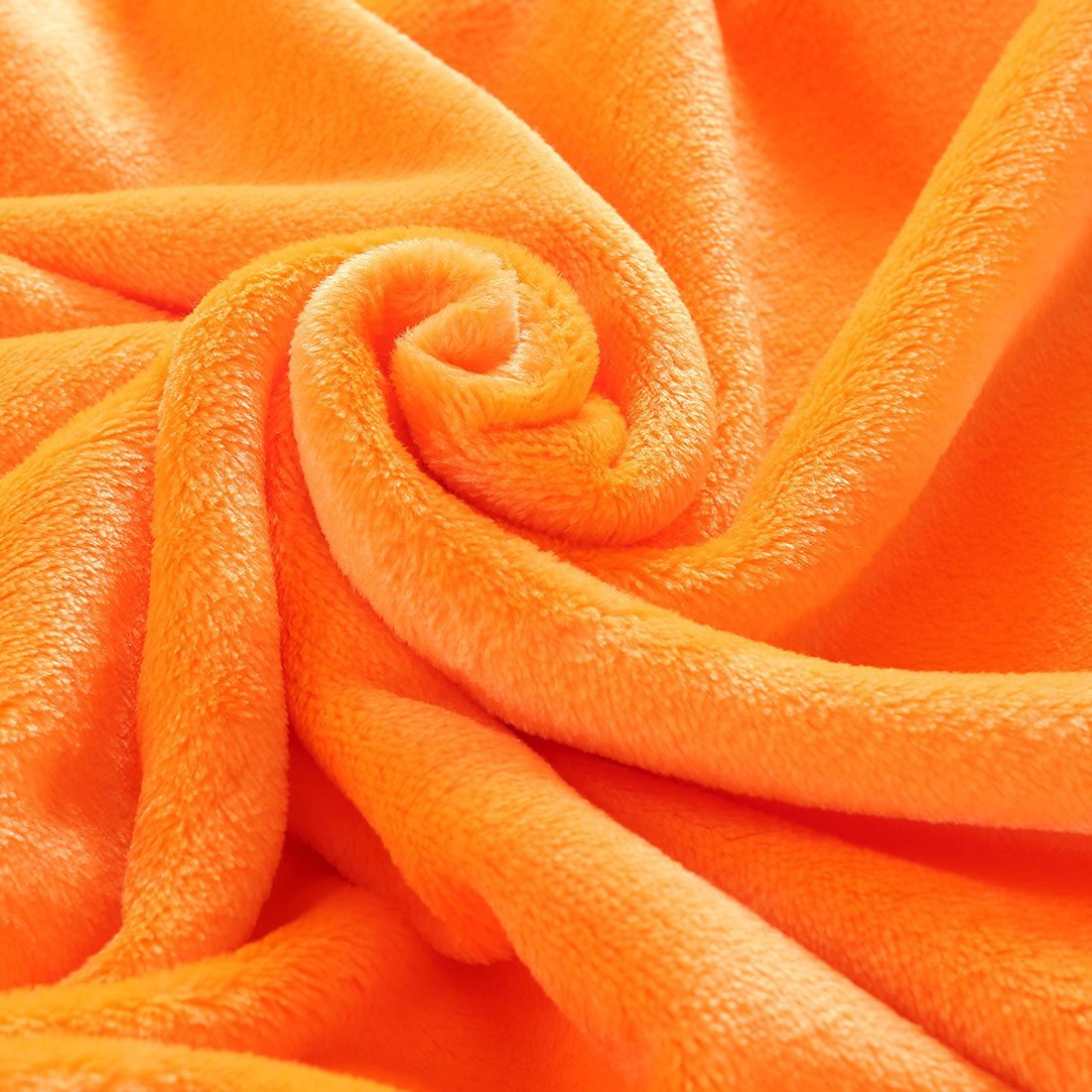 Amazon.com: eDealMax de Felpa Suave Fuzzy Throw Ligera Felpa Caliente (90inch-por-78Inch) Sofá cama King Size Manta, Naranja: Home & Kitchen
