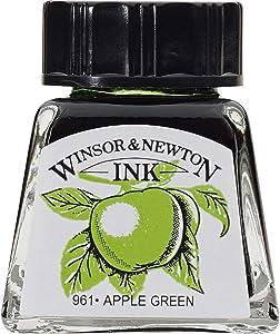 Winsor & Newton Drawing Ink Bottle, 14ml, Apple Green