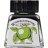 Winsor & Newton 14ml Drawing Ink Bottle - Apple Green