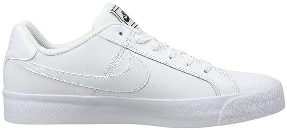 info for 14bff a296e Nike Court Royale AC, Zapatillas de Tenis para Mujer, Blanco White/Black  102, 42.5 EU: Amazon.es: Zapatos y complementos