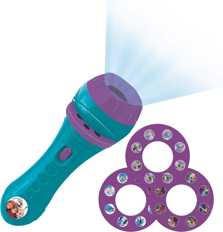 Lexibook Disney, Frozen-Linterna de bolsillo con proyector 3 ...