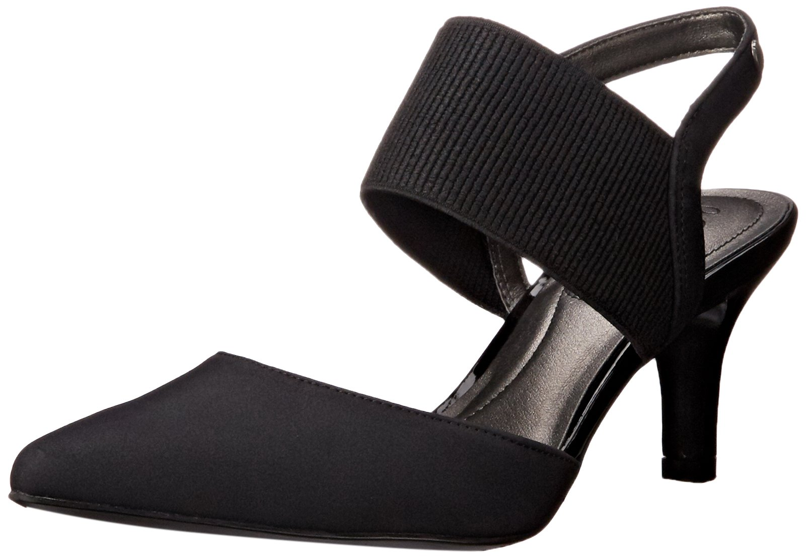 LifeStride Women's Solace, Black, 8.5 M US