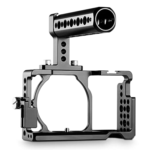 SMALLRIG Jaula a6300 Rig, Cage con Top Handle y HDMI Lock para ...