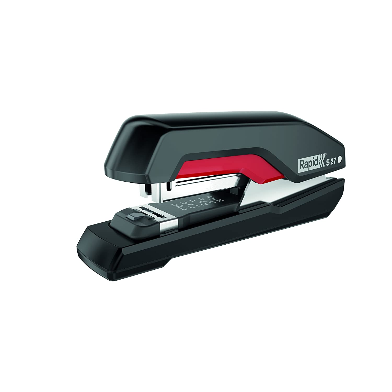 S27 Pink Rapid Stapler SuperFlatClinch Ergonomic plastic body 5000542 30 sheet capacity